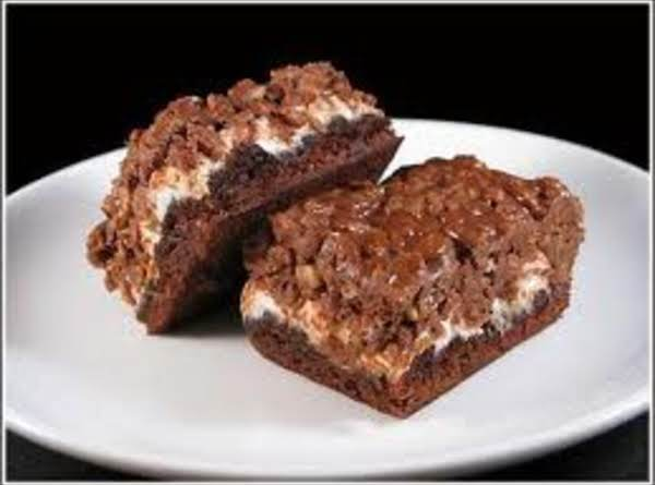 Marshmallow-crisp Brownies Recipe