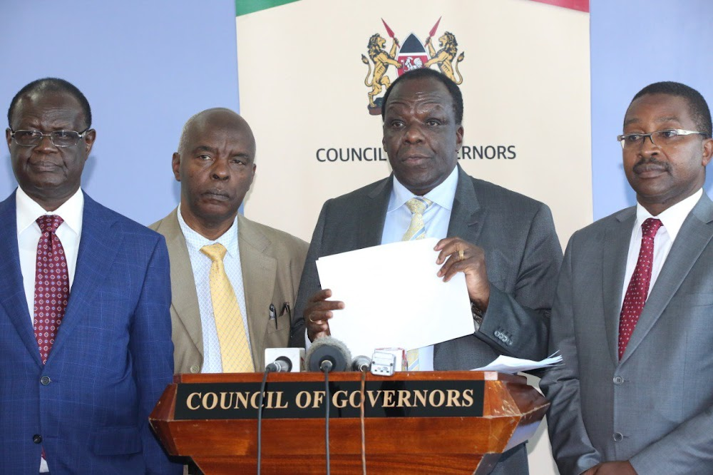 Governors to Senate: Bashing Oparanya isn't helpful, find solution