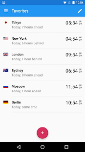World Clock by timeanddate.com- screenshot thumbnail