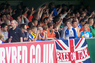 Photo: 06/08/11 v Bristol Rovers (Football League Div 2) 2-3 - contributed by Gary Spooner