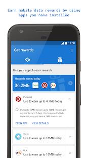 Triangle: More Mobile Data Screenshot