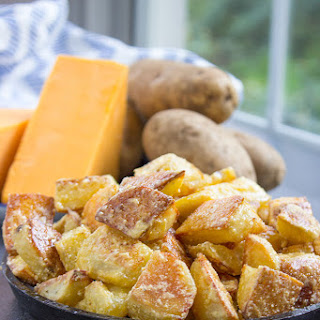 Cheddar and Sour Cream Roasted Potatoes