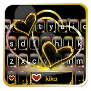 App Luxury Gold Heart Keyboard Theme APK for Windows Phone
