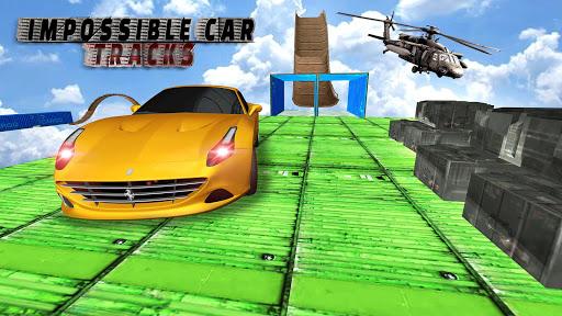 Impossible Car Stunt game : Car games screenshot 1