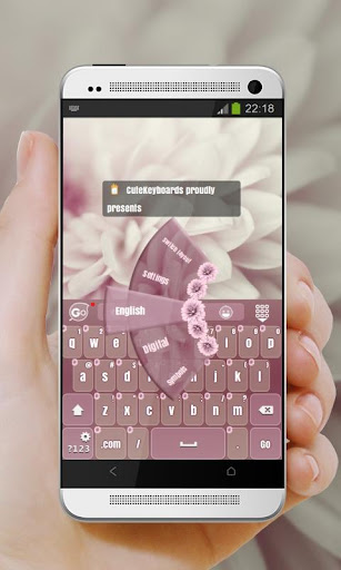 玩免費個人化APP|下載淡いピンク GO Keyboard app不用錢|硬是要APP