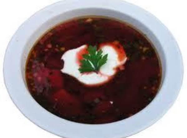 Borscht (cold Beet Soup)