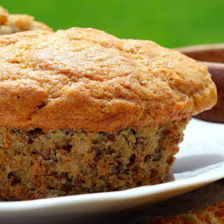 Flaxseed, Wheat, and Bran Muffins.