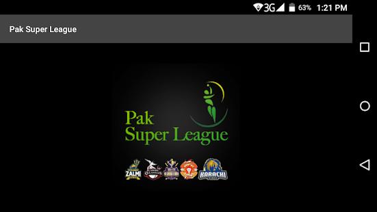 Pak Super League - náhled