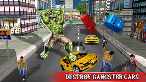 Monster Superhero City Fighter  ( The Big Man ) Games (apk) free download for Android/PC/Windows screenshot