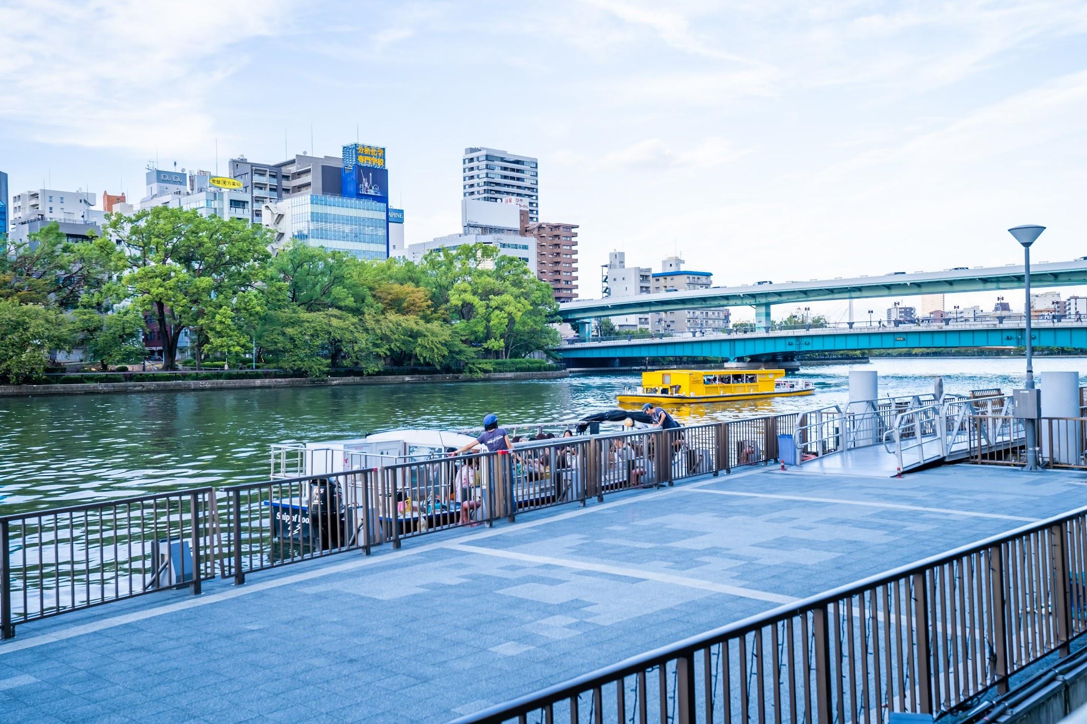 大阪 中之島 観光クルーズ 水上バス1