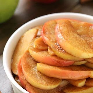 Healthier Sauteed Apples (naturally vegan, gluten-free, dairy-free, paleo)