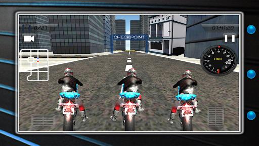 狂気のバイクは 3Dに匹敵します