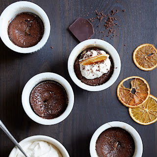 Bittersweet Chocolate Pudding Cakes