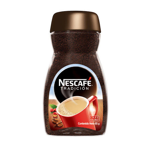 cafe instantaneo nescafe tradicion vidrio 85 gr