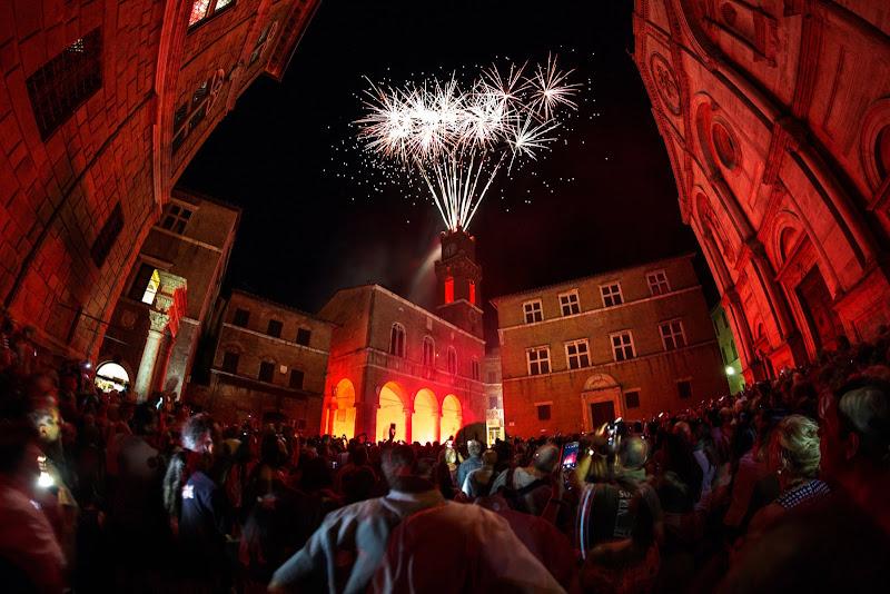 Fireworks in Pienza di ene91