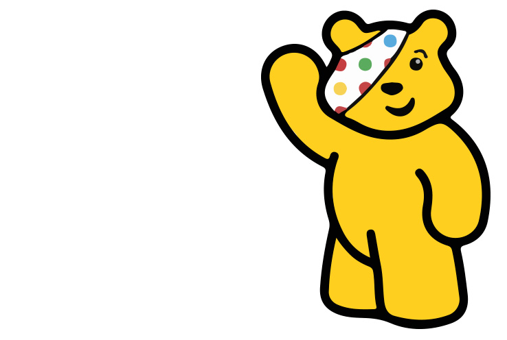 Children in Need mascot Pudsey Bear
