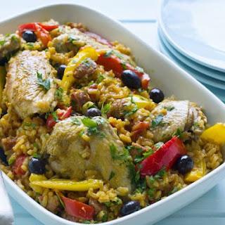 Spanish Chicken and Chorizo Rice