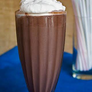 Serious Chocolate Malt Shakes.