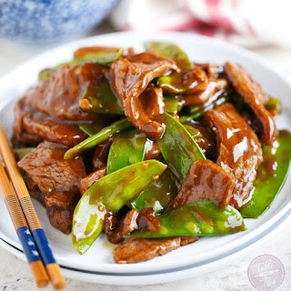 25-Minute Beef and Snow Pea Stir Fry.