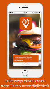Glutenfreier Restaurant Finder- screenshot thumbnail