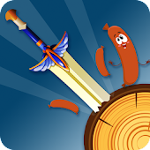 Kick Knife - Hit The Sausage ?? Android APK Download Free By Puzzlegames Studio Ltd.