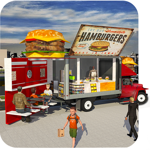 Food Truck Simulator Pizza Delivery Pickup Parking