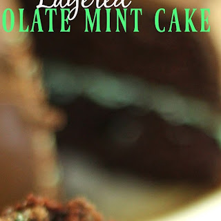 Out-of-this-World Layered Chocolate Mint Cake.