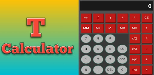 T calculetor for PC