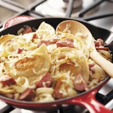 Sausage Pierogi Skillet Recipe