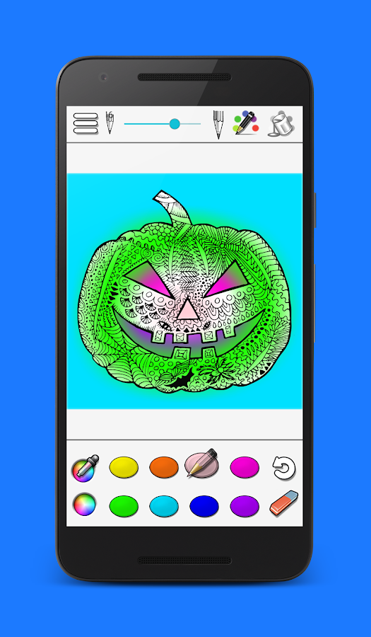 Coloring- screenshot