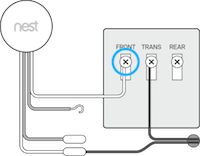 Nest hello chime connector connected example image.