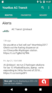 AC Transit Bus Tracker App - Commuting made easy.- screenshot thumbnail