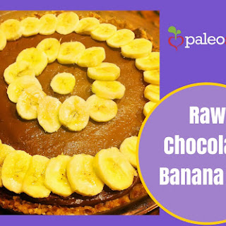 Raw Chocolate Banana Pie