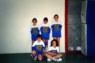 Photo: Les poussines 1996-1997 5è du championnat de Lorraine