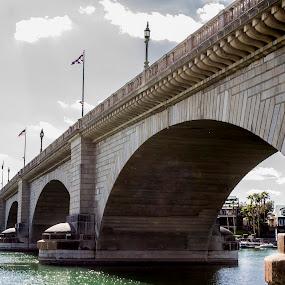 London Bridge by David Shearer - Buildings & Architecture Statues & Monuments ( london, arizona, lake )