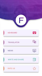 Finnish Keyboard - Finnish Translator - Finnish - náhled
