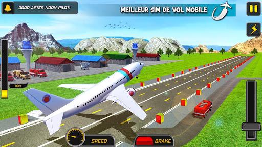 Télécharger Gratuit réal avion vol simulateur apk mod screenshots 2