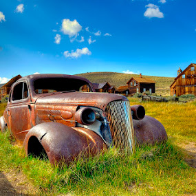 Past Transportation by Brent Clark - Transportation Automobiles ( car, old, automobile, bodie, auto, transportation, rust )