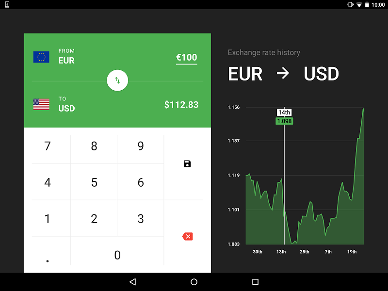CoinCalc - Currency Converter/Exchange with Crypto Screenshot 9