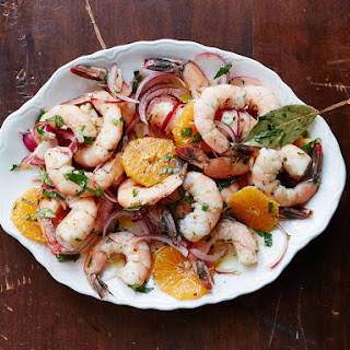 Pickled Shrimp with Satsuma Orange