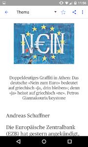 az Solothurner Zeitung E-Paper screenshot 3