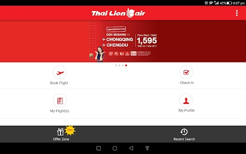 Thai Lion Air- screenshot thumbnail
