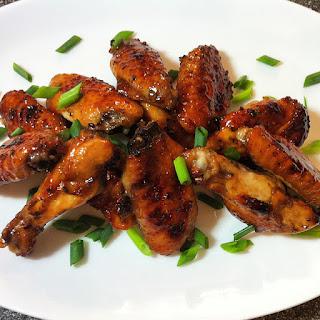 Balsamic Glazed Chicken Wings
