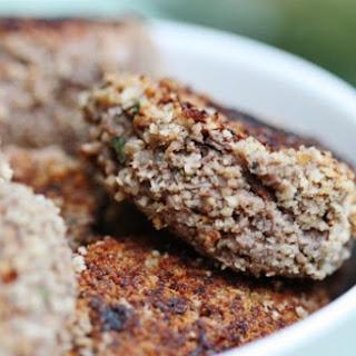 Mushroom, Lentil, and Quinoa Croquettes.