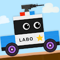 Brick Car 2 Game for Kids: Build Truck, Tank & Bus icon