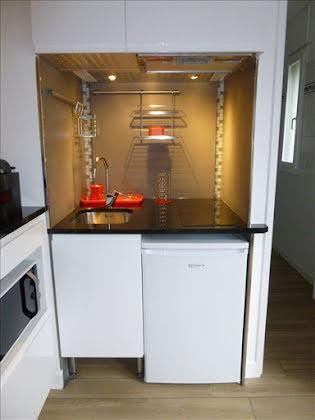 Location studio meublé 26,57 m2