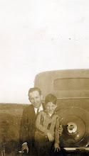 Photo: Joe Bernard Tillery and son, Joe Bernard Tillery Jr. 1930s
