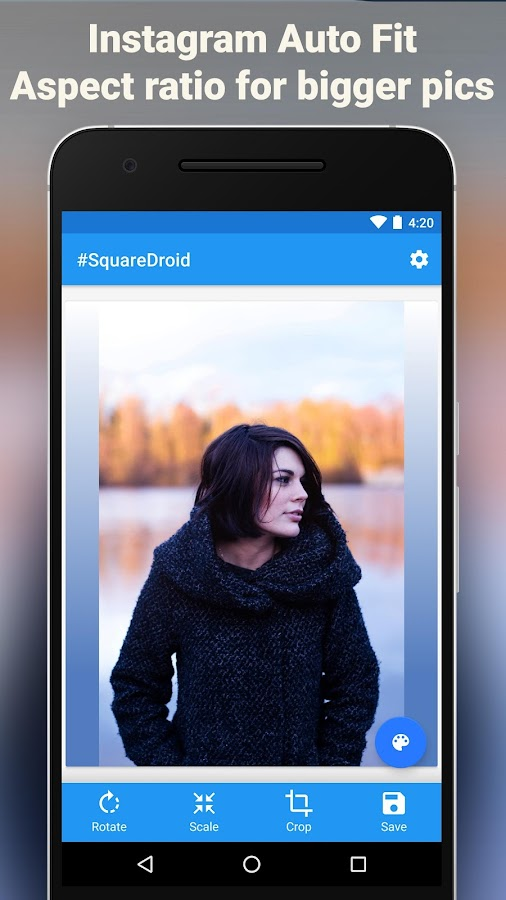 #SquareDroid: Full Size Photos: captura de tela