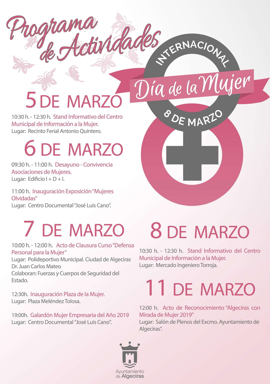 El Ayuntamiento conmemorará el Día Internacional de la Mujer con una serie de actividades