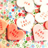 conversation candy, Heart Candy, homemade, personalized, recipe, sweetheart candy, treat, Valentine day
